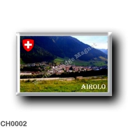 CH0002 Europe - Switzerland - Airolo