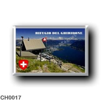 CH0017 Europe - Switzerland - Mountain Refuge of Ghiridone