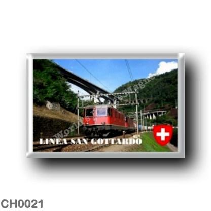 CH0021 Europe - Switzerland - The Gotthard Railway