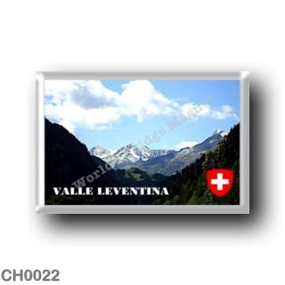 CH0022 Europe - Switzerland - Leventina Valley