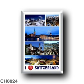 CH0024 Europe - Switzerland - I Love