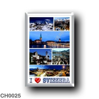 CH0025 Europe - Switzerland - I Love