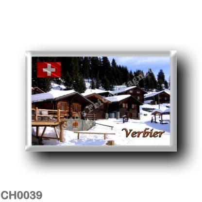 CH0039 Europe - Switzerland - Verbier - Cottages