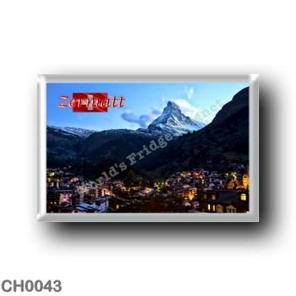 CH0043 Europe - Switzerland - Zermatt - By Night