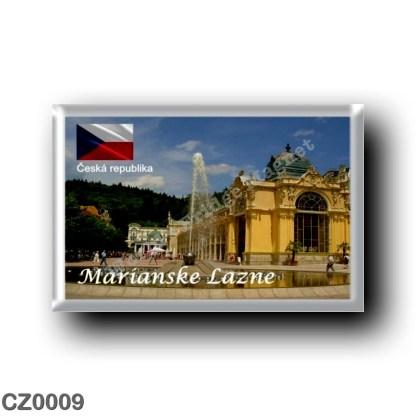 CZ0009 Europe - Czech Republic - Marianske Lazne - Marienbad