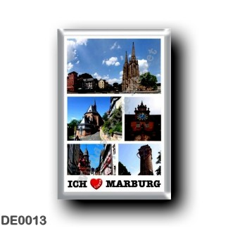 DE0013 Europe - Germany - Marburg - I Love OK