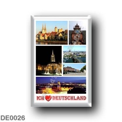 DE0026 Europe - Germany - Ich Liebe - I Love