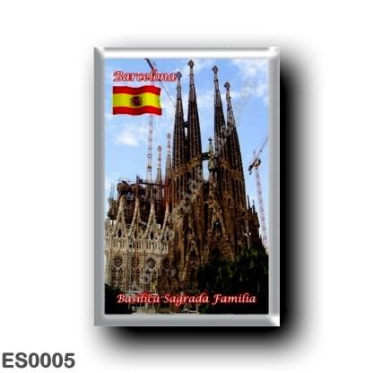 ES0005 Europe - Spain - Barcelona - Basilica Sagrada Familia
