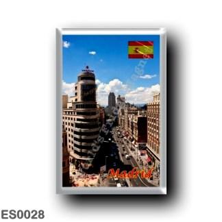 ES0028 Europe - Spain - Madrid - Downtown Avenu
