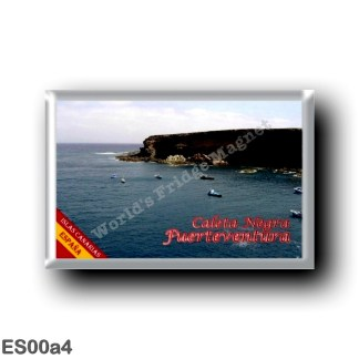 ES00a4 Europe - Spain - Canary Islands - Fuertventura - Caleta Negra