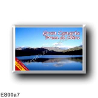 ES00a7 Europe - Spain - Canary Islands - Gran Canaria - Presa de Chira