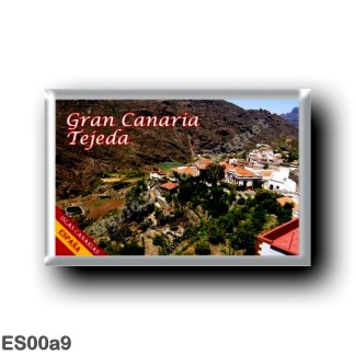 ES00a9 Europe - Spain - Canary Islands - Gran Canaria - Tejeda
