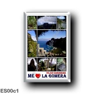 ES00c1 Europe - Spain - Canary Islands - La Gomera - I Love