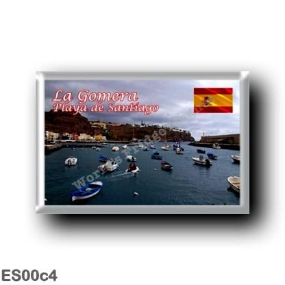 ES00c4 Europe - Spain - Canary Islands - La Gomera - Playa de Santiago
