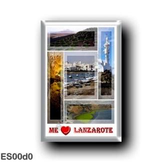 ES00d0 Europe - Spain - Canary Islands - Lanzarote - I Love