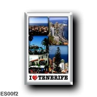 ES00f2 Europe - Spain - Canary Islands - Tenerife - Puerto de la Cruz - I Love