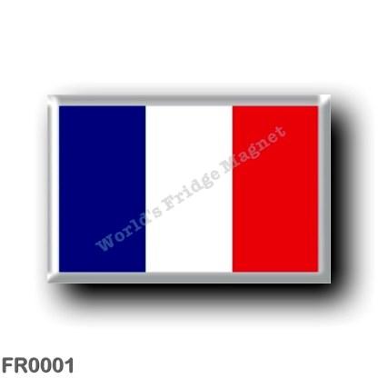 FR0001 Europe - France - French flag