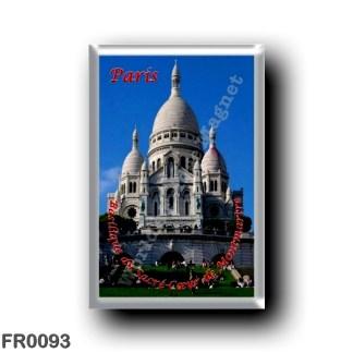 FR0093 Europe - France - Paris - Basilique du Sacré-Cœur de Montmartre