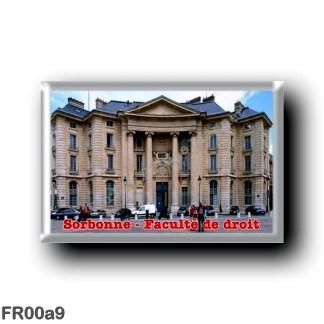 FR00a9 Europe - France - Paris - Sorbonne - Faculté de droit