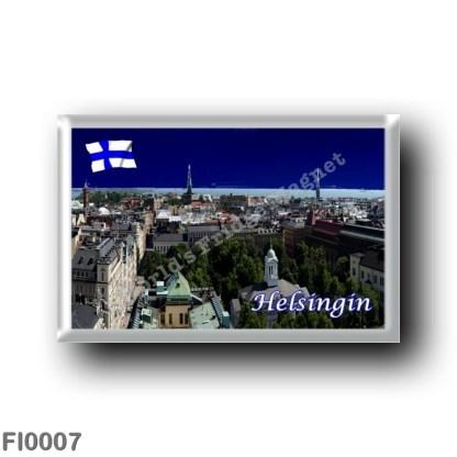 FI0007 Europe - Finland - Helsinki - Helsingfors - Panorama
