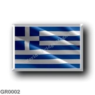 GR0002 Europe - Greece - Greek flag - waving