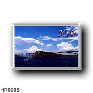 HR0005 Europe - Croatia - Krk Bridge - Veglia