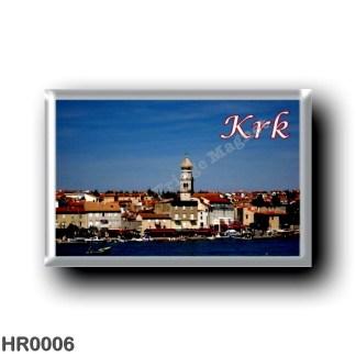 HR0006 Europe - Croatia - Krk City - Veglia
