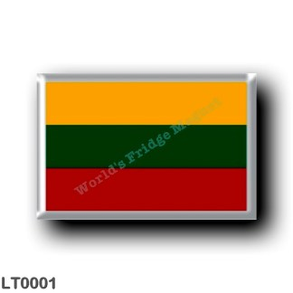 LT0001 Europe - Lithuania - Lithuanian flag