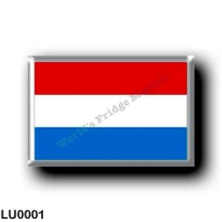 LU0001 Europe - Luxembourg - flag