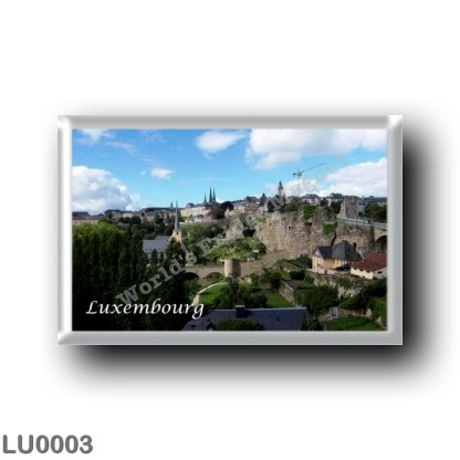 LU0003 Europe - Luxembourg - Panorama