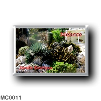 MC0011 Europe - Monaco - Jardin Exotique