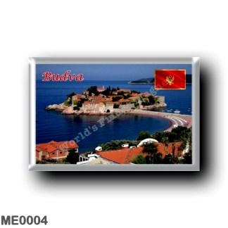 ME0004 Europe - Montenegro - Budva - Sveti Stefan