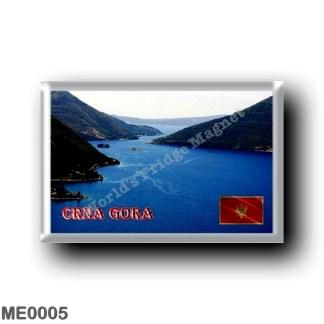 ME0005 Europe - Montenegro - Gulf of Kotor