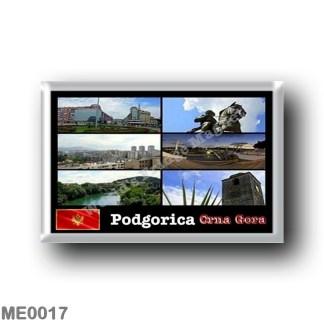 ME0017 Europe - Montenegro - Podgorica - Mosaic