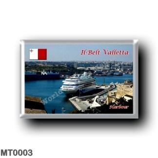 MT0003 Europe - Malta - Il-Belt Valletta - Harbour