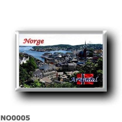 NO0005 Europe - Norway - Arendal