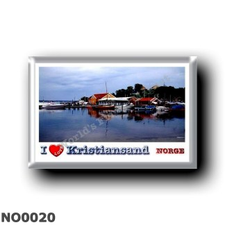 NO0020 Europe - Norway - Kristiansand - I Love