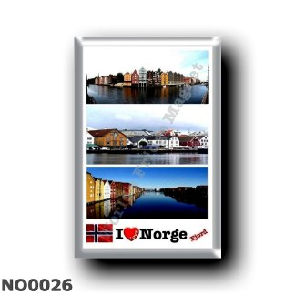 NO0026 Europe - Norway - Norge - I Love