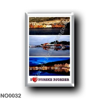 NO0032 Europe - Norway - Norske Fjorder - I Love