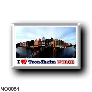 NO0051 Europe - Norway - Trondheim - I Love