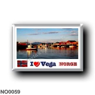 NO0059 Europe - Norway - Vega - I Love