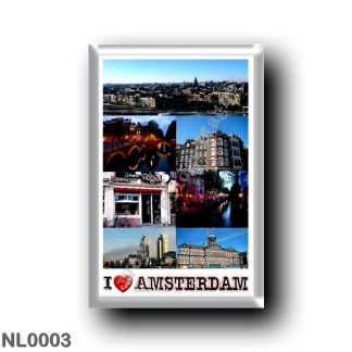 NL0003 Europe - Holland - Amsterdam - I Love