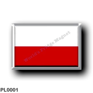 PL0001 Europe - Poland - Polish flag
