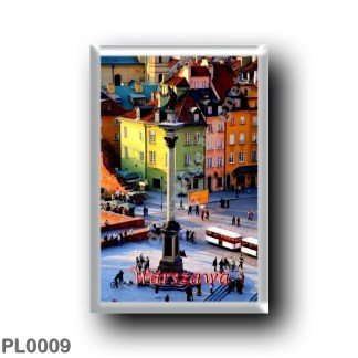 PL0009 Europe - Poland - Warsaw - Sigismund Column