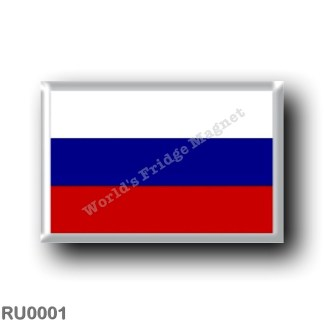 RU0001 Europe - Russia - Flag Russian