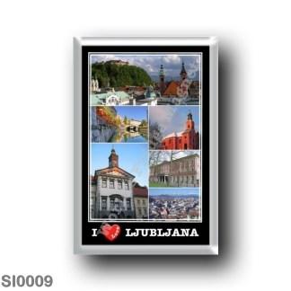 SI0009 Europe - Slovenia - Lubiana - I Love
