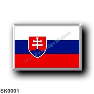 SK0001 Europe - Slovakia - Slovak flag