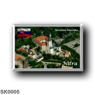 SK0005 Europe - Slovakia - Nitra - Castello
