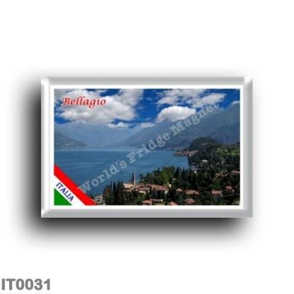 IT0031 Europe - Italy - Lombardy - Lake Como - Bellagio (flag)