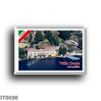 IT0036 Europe - Italy - Lombardy - Lake Como - Cernobbio - Villa Deste (flag)